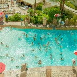 プールの水道水と残留塩素